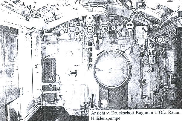 Kriegsmarine sang d 39 ancre int rieur u boot for Interieur u boot