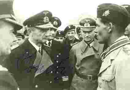 Le grand Amiral Doenitz